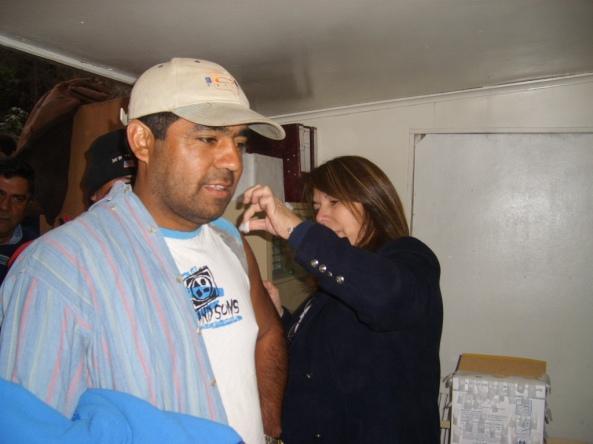 Programa preventivo CMSG vacunación influenza estacional