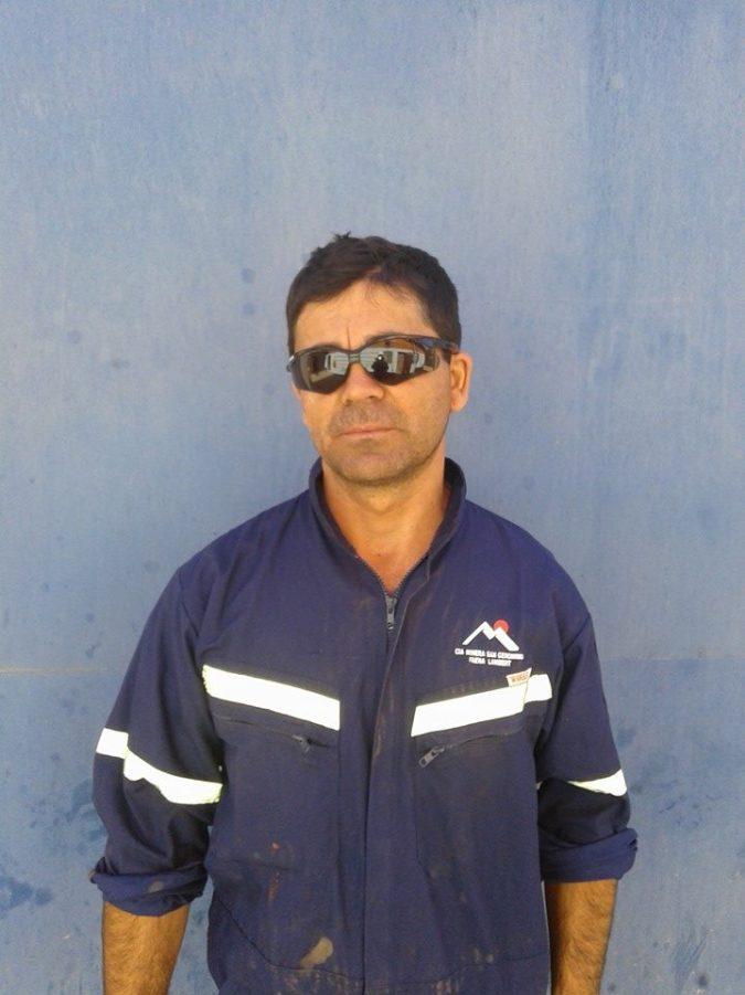 Roberto Galvez Creador y diseñador de la estructura del Monolito