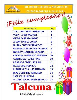Cumpleaños_Enero_Planta Talcuna