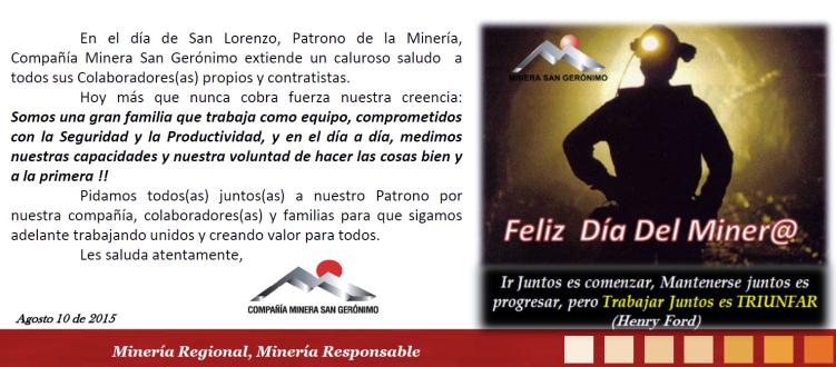 Saludo Dia del minero_oficial