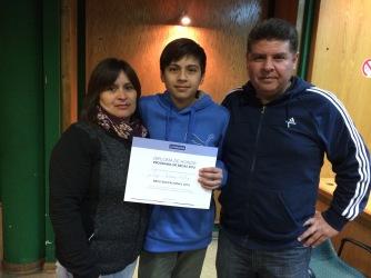 Hijo de Luis Cáceres Administración - LUIS RUBEN CACERES ORTIZ