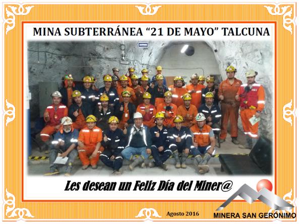 Mina 21 Talcuna