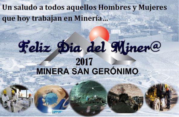 saludo minero 2017