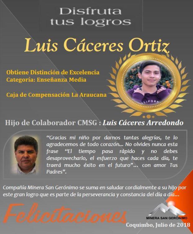 LUIS CACERES ORTIZ