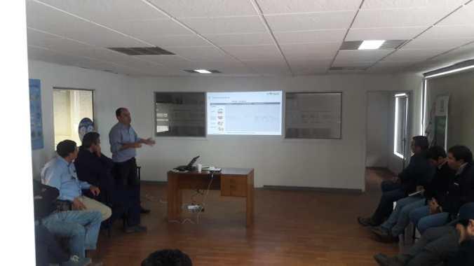 Charlas de Capacitación Bayer y CMSG a Distribuidor CALS en Rancagua