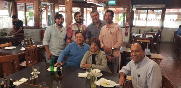 Reunión con Ing. Agr. MSc Blancaluz Pinilla y Equipo Técnico Agrícola Reginato - Rancagua