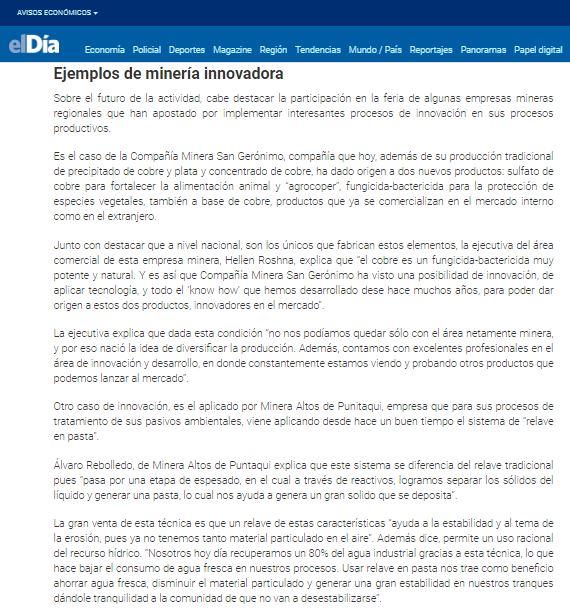 Nota Diario El Dia