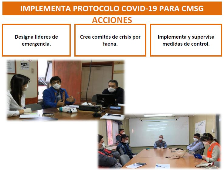 EJE2-IMPLEMENTA PROTOCOLO COVID-19 PARA CMSG