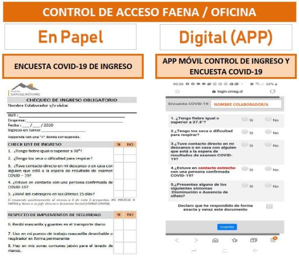EJE3-CONTROL DE ACCESO FAENA-OFICINA